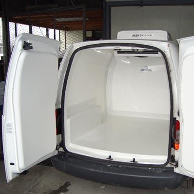 Automobilinė šaldymo įranga
