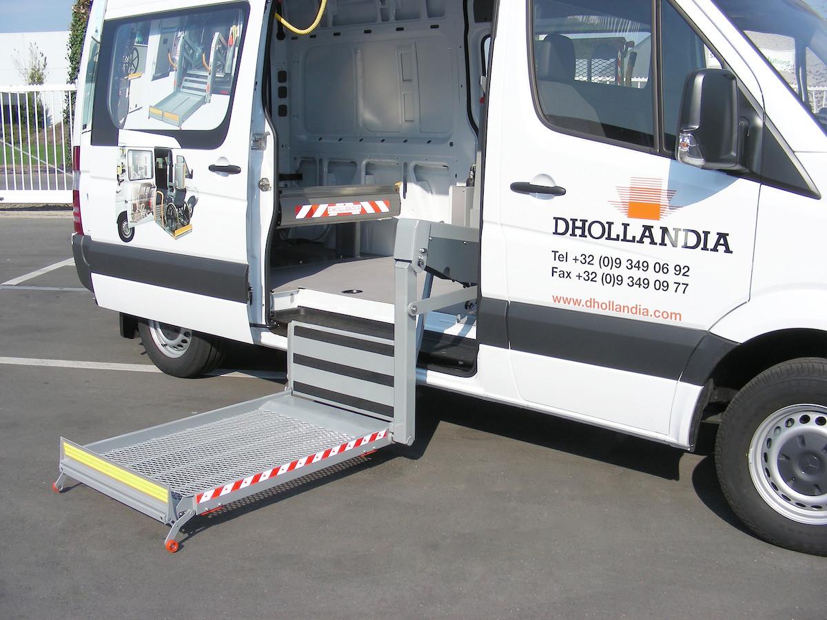dhollandia hidraulinis liftas DH P1.03